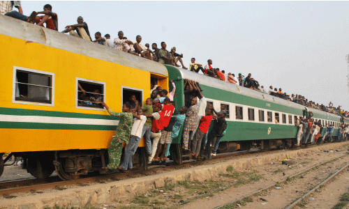 'Rooftop Train Riders To Pay N100,000 Fine Soon'