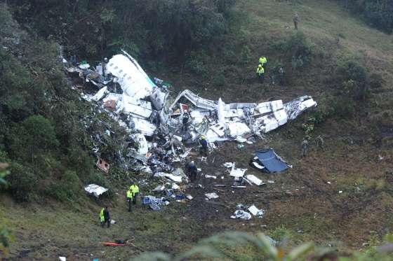 Brazilian Soccer Team's Plane Crash Leave 76 Dead