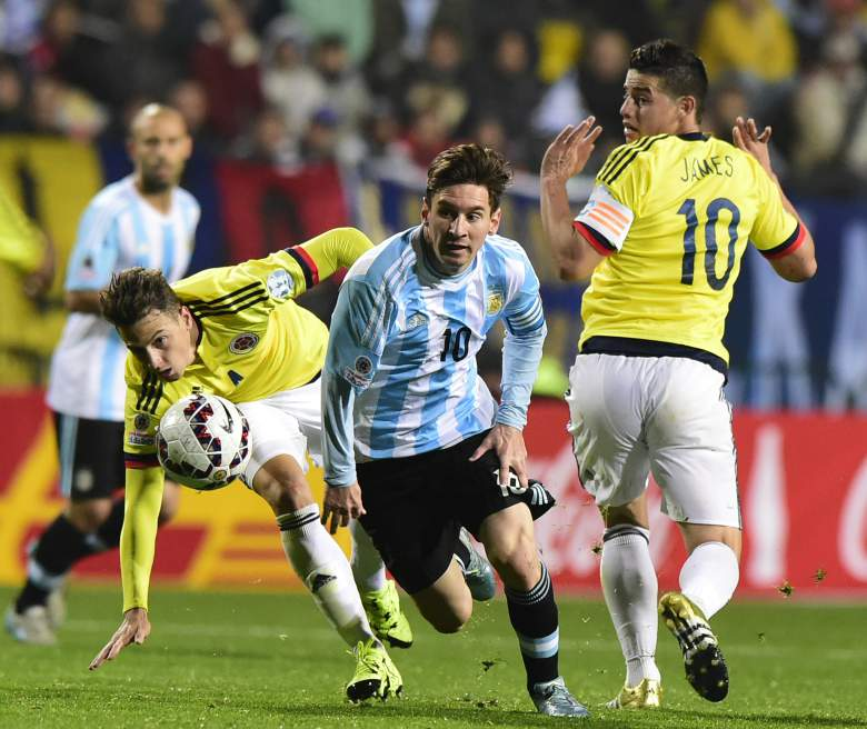 Messi Fires Argentina To Victory