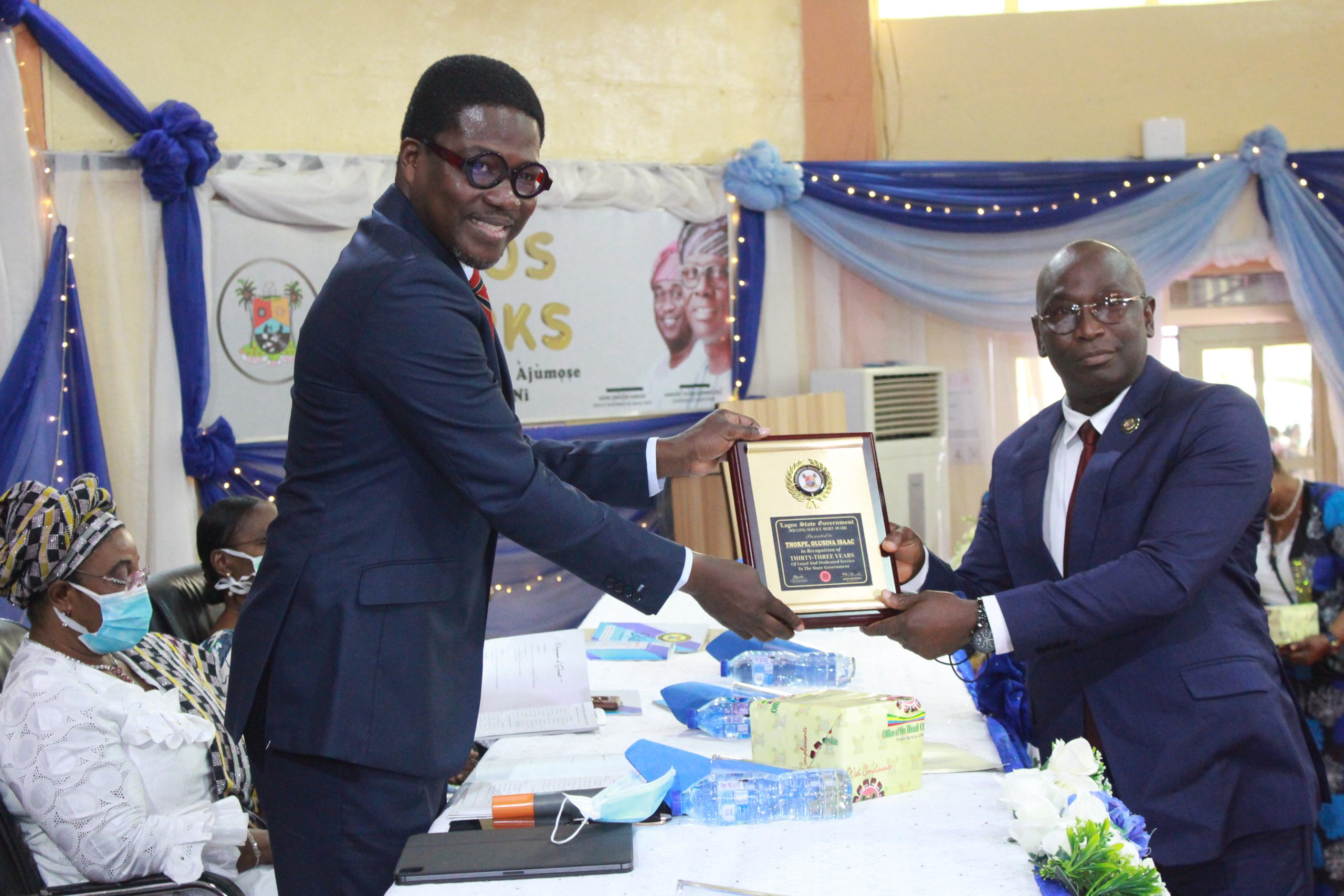 LAGOS HONOURS 861 STAFF WITH LONG SERVICE AWARDS