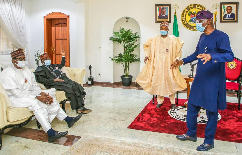 ENDSARS: APC Governors Hail Sanwo-Olu's Leadership