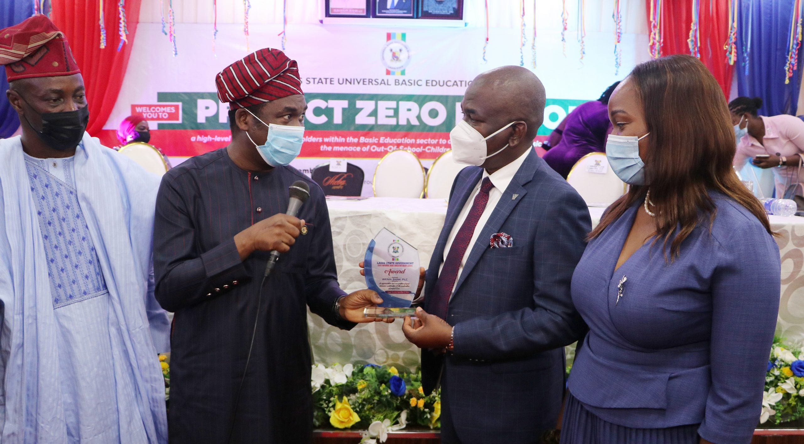 Sanwo-Olu Launches Project Zero To Address Out Of School Menace