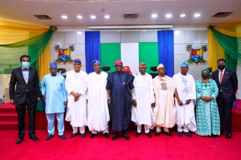 Sanwo-olu Swears-in Local Government Service Commission Members