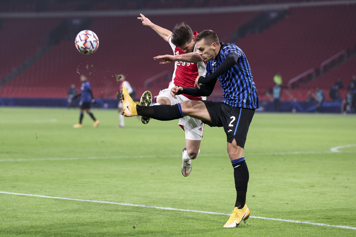 Atalanta beat Ajax to reach Champions League last 16