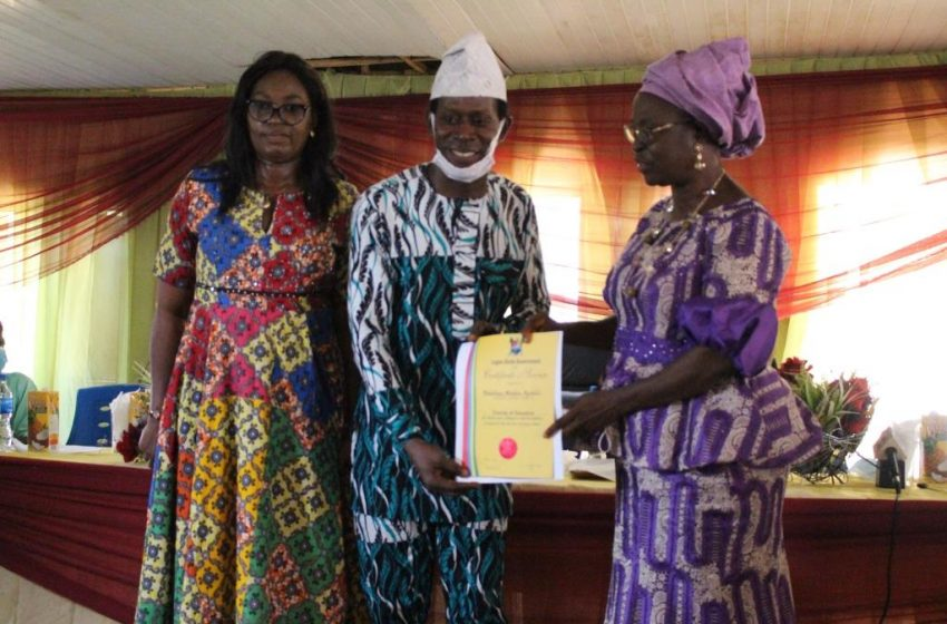 LAGOS TG/PS EXTOLS RETIREES' CONTRIBUTIONS TO EDUCATION SECTOR