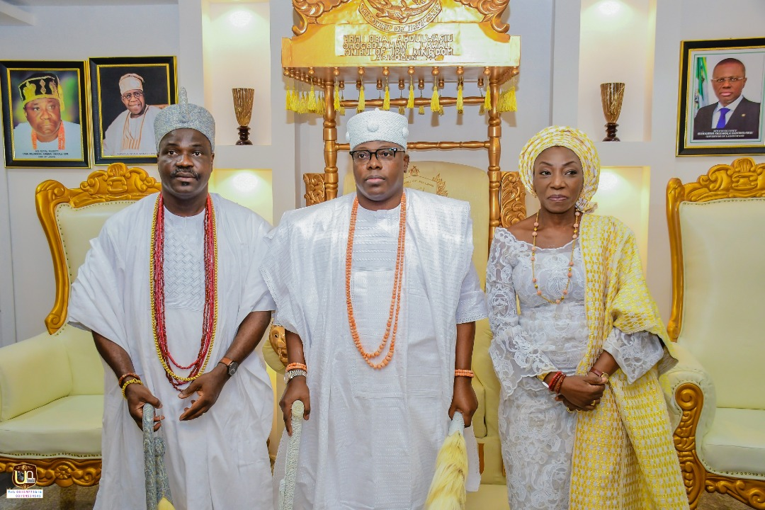 Olugbon Visits Oniru; Expresses Confidence In His Ability