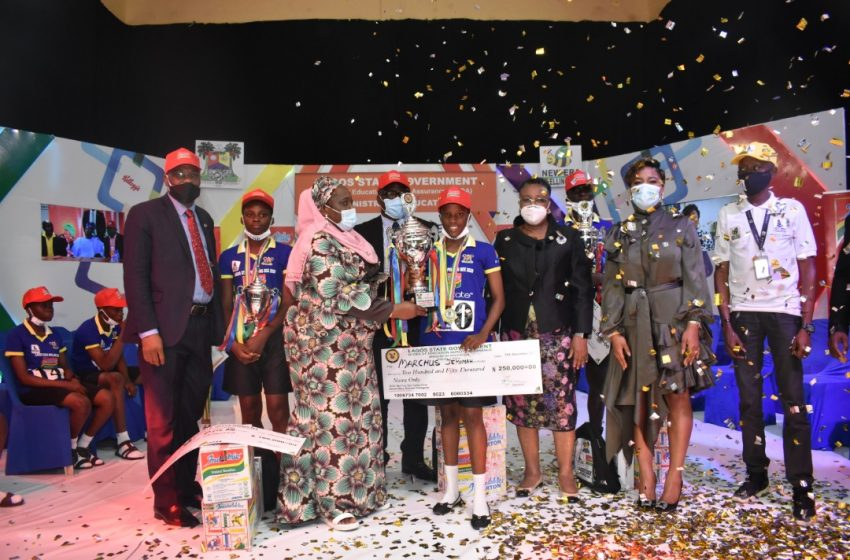 Y2020-  Spelling Bee Competition: Jemimah Marcus Emerges Lagos One Day Governor