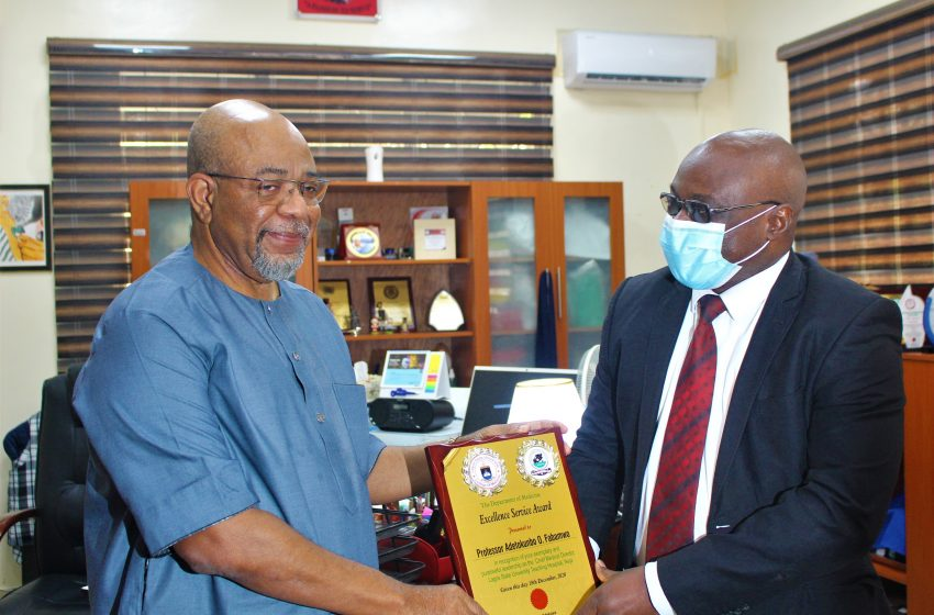 LASUTH DEPARTMENT OF MEDICINE HONOURS CMD