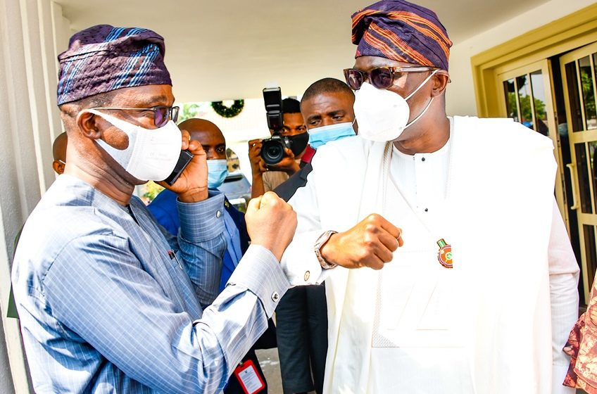 SANWO-OLU CELEBRATES ABIRU'S VICTORY, AS GOVERNOR HOSTS APC CANDIDATES FOR LAGOS BYE-ELECTIONS