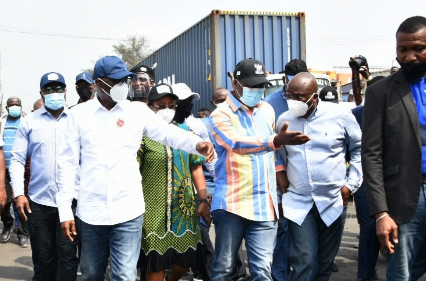 APAPA GRIDLOCK: LAGOS MOVES TO TAKE OVER PRESIDENTIAL TASKFORCE OPERATION, AS SANWO-OLU VISITS AREA AGAIN