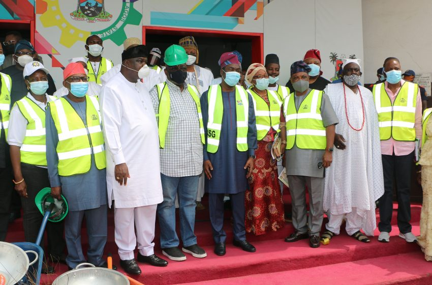 FG FLAGS OFF EXTENDED PUBLIC WORKS PROGRAMME IN LAGOS
