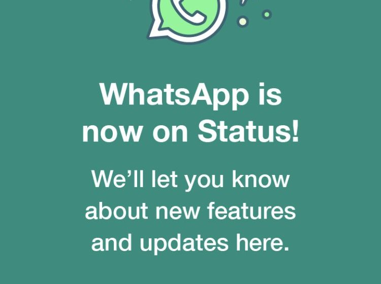 WhatsApp Promotes Commitment to Privacy with Forced Status .