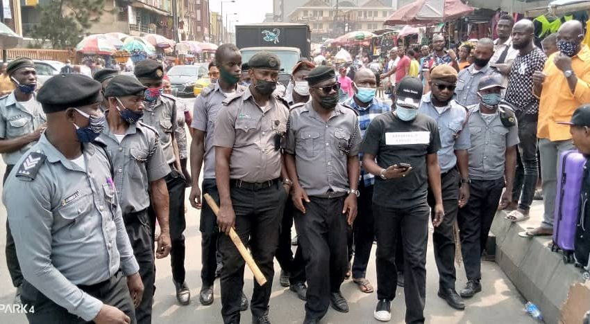 CBD DISLODGES LAWLESS MOTORISTS, STREET TRADERS IN LAGOS ISLAND BUSINESS DISTRICT