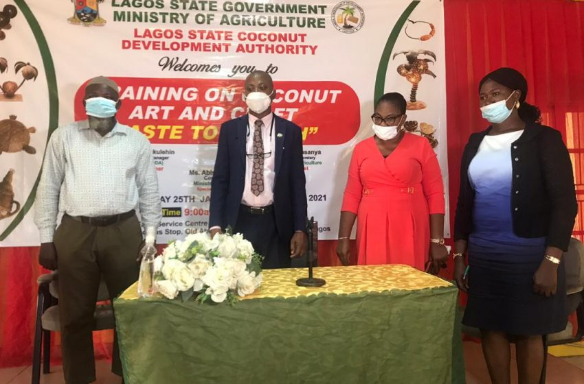 LASG COMMENCES TRAINING PROGRAMME FOR 1,000 RESIDENTS IN ARTS, CRAFTS