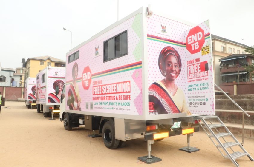 SANWO-OLU LAUNCHES 3 MOBILE CHEST X-RAY VANS FOR TB SCREENING
