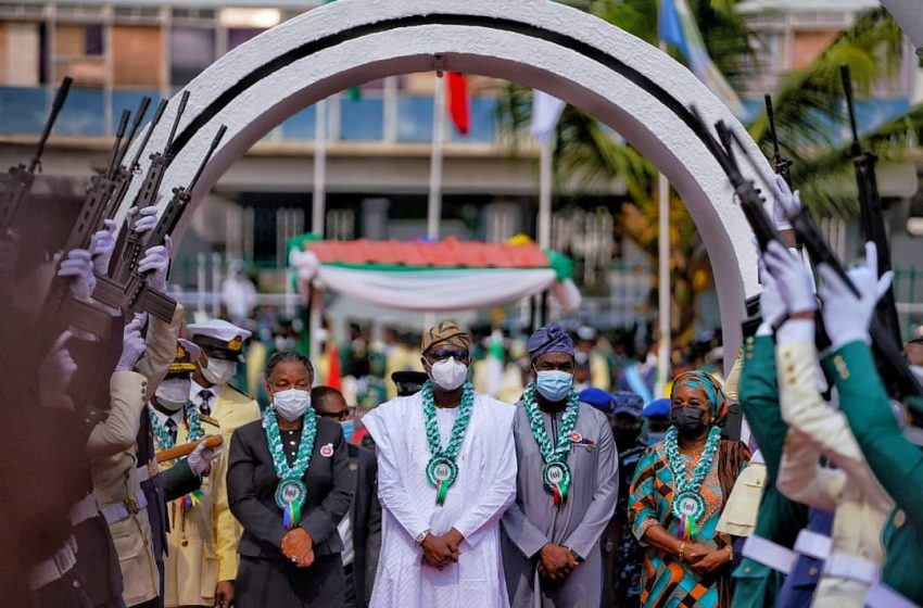 ARMED FORCES REMEMBRANCE DAY: SANWO-OLU COMMENDS NATION'S SECURITY OFFICERS
