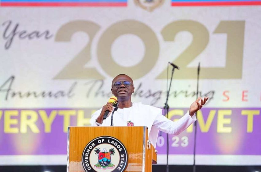 WE'LL COMPLETE MAJOR PROJECTS TO UPLIFT LIVING STANDARDS OF LAGOSIANS IN 2021 – SANWO-OLU