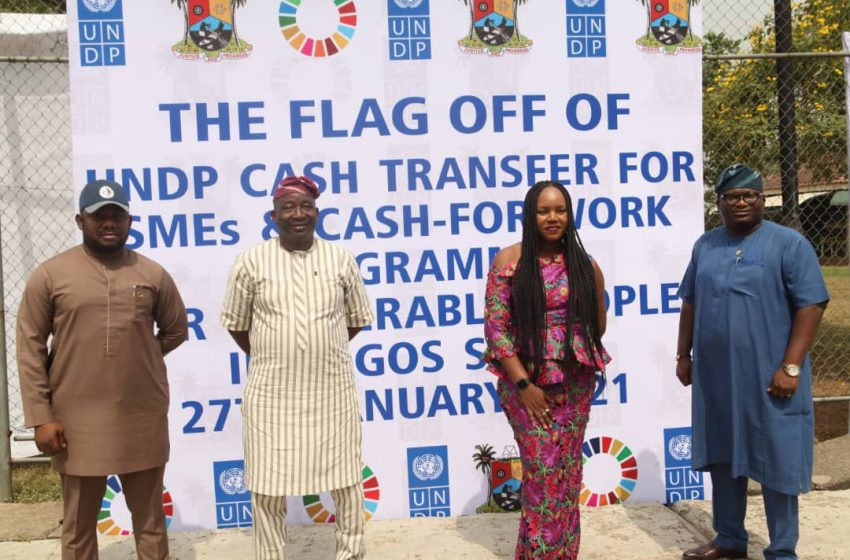 LAGOS, UNDP FLAG-OFF 'CASH FOR WORK' FOR VULNERABLE RESIDENTS