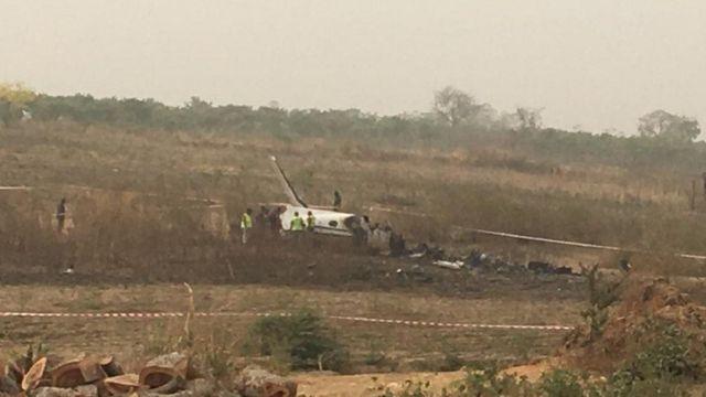 Nigerian Air Force Passenger Plane Crash kills Seven People.