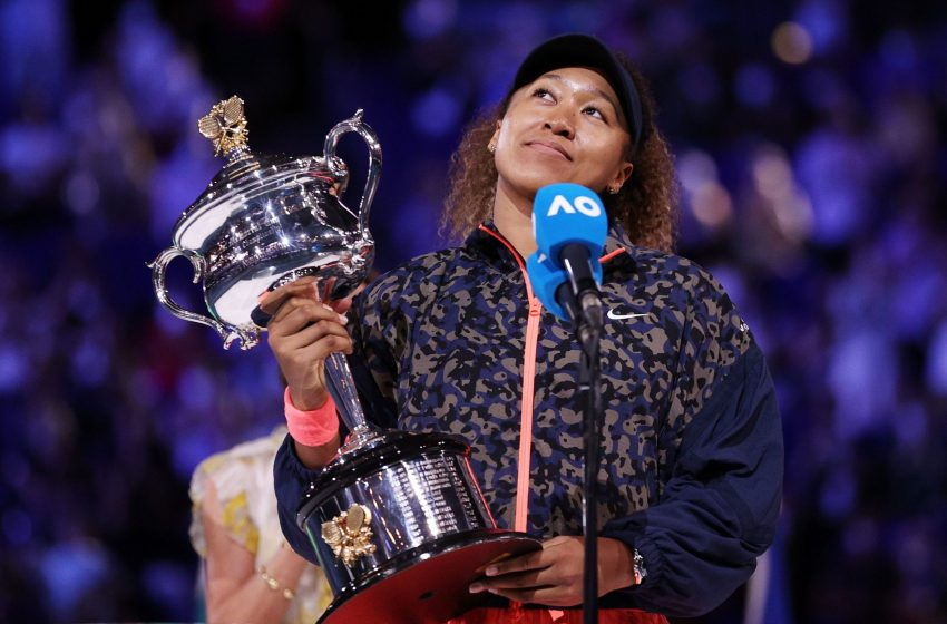 Osaka Climbs to Second After Australian Open Triumph.