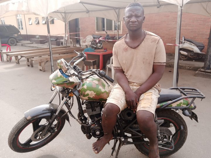 Fake Soldier Jailed for 6 Months in Lagos for Breaking state Traffic Laws, Impersonation.
