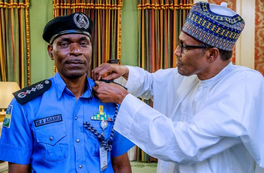 Buhari Extends Adamu's Tenure As IGP