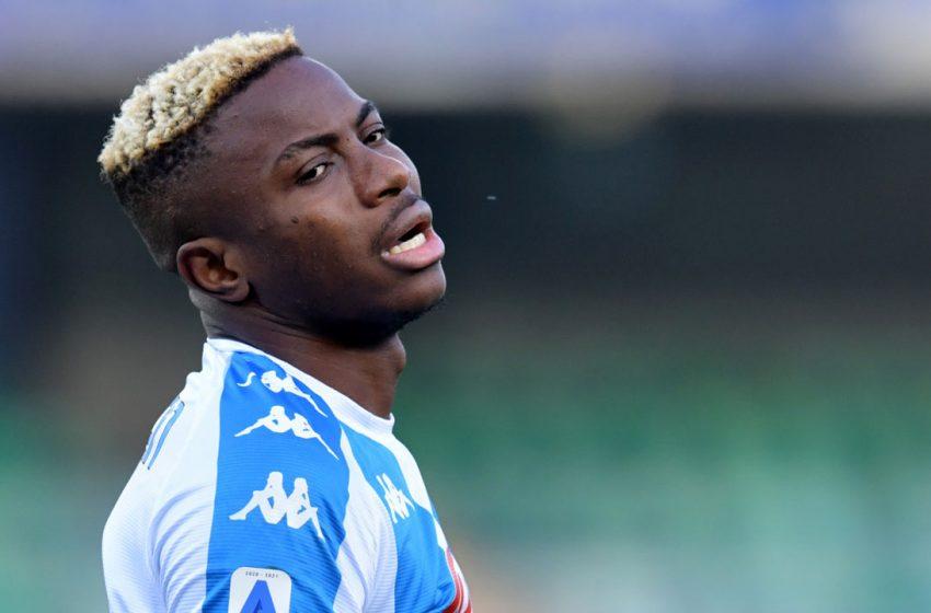 Napoli's Osimhen hospitalised with head trauma after Atalanta defeat