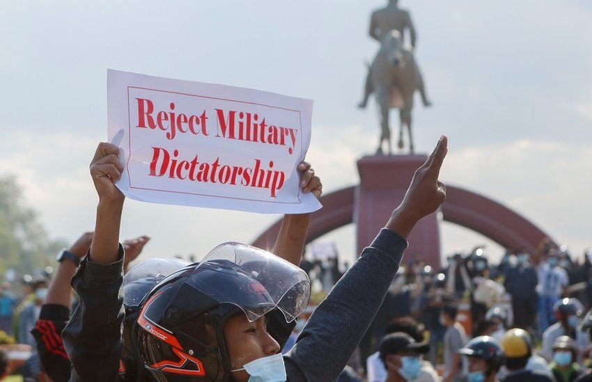 Myanmar Coup Leader Defends Action Amid Mass Protests