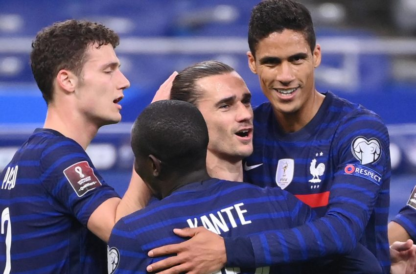 Griezmann on target but holders France Draw with Ukraine in World Cup Qualifying.