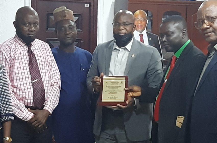 LAGOS PERMANENT SECRETARY BAGS NITAD AWARD FOR HARDWORK, RESOURCEFULNESS