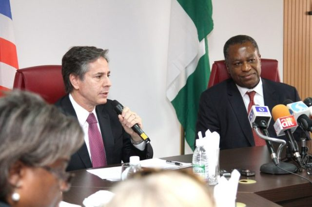 Blinken, Onyeama Seek Stronger Bilateral Ties Between U.S., Nigeria