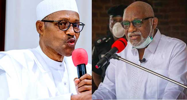 Akeredolu Asks FG To Tackle Insecurity