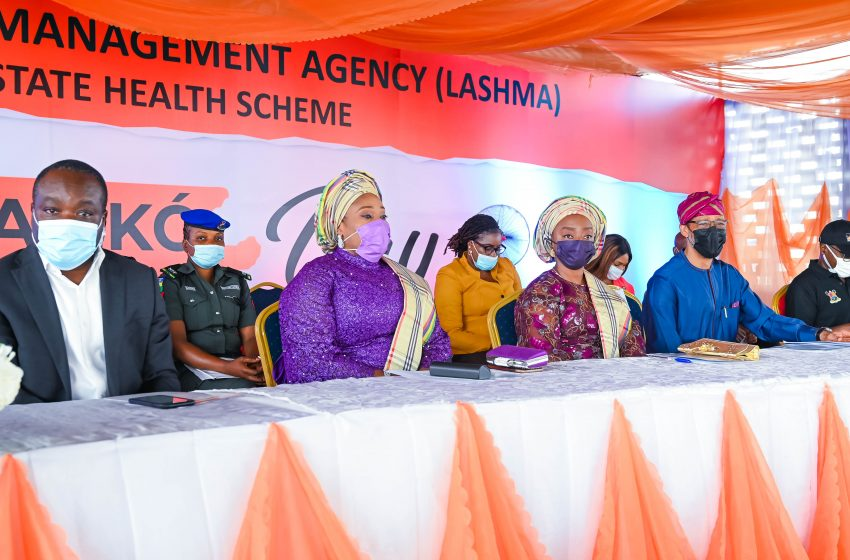 Sign Up For Lagos Health Scheme, Sanwo-Olu's Wife Appeals To Residents