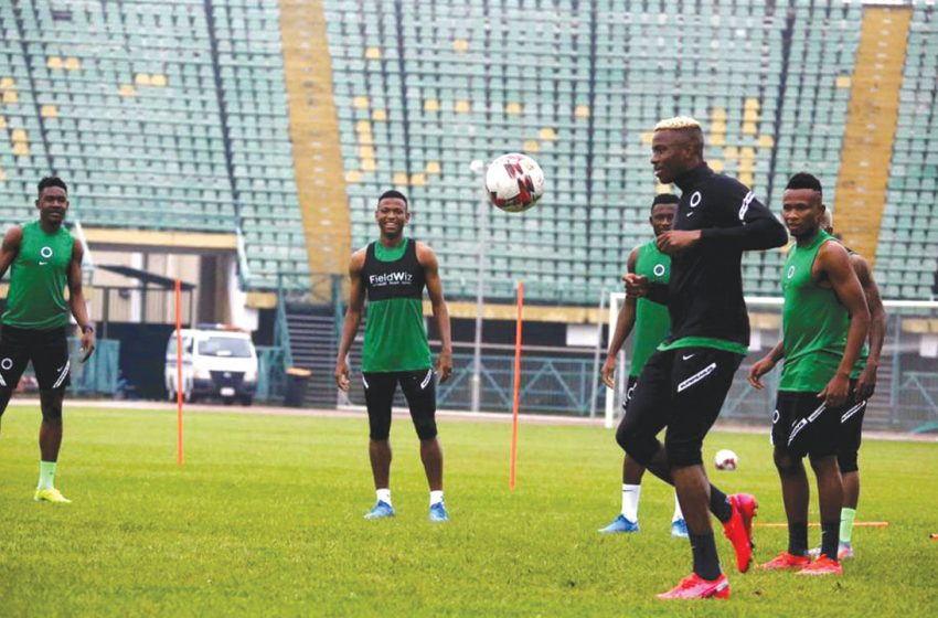 Eagles focus on Fitness as Rohr explains initial Decision to drop Onuachu