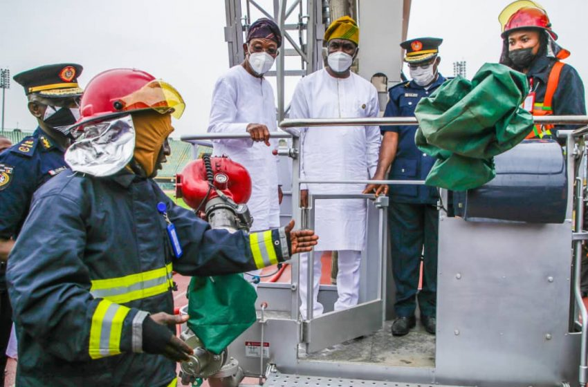 FIRE FIGHTING: HAMZAT CALLS FOR STANDARD LAW TO REGULATE TRUCKS, ARTICULATED VEHICLES