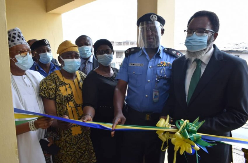 LASG COMMISSIONS NEW LIBRARY AT PANTI, PROMISES ENHANCED JUSTICE DELIVERY