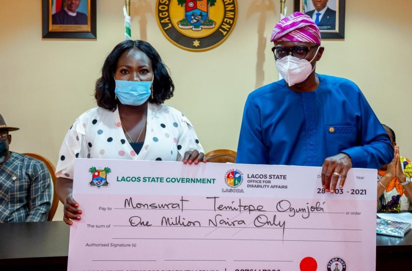 Sanwo-Olu Supports Persons Living With Cerebral Palsy, Down Syndrome.