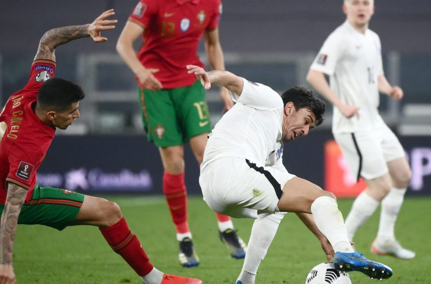 Portugal struggle to narrow qualifying win over Azerbaijan