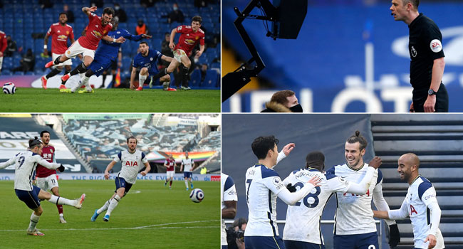 Man Utd Frustrated By Penalty Row In Chelsea Stalemate, Bale Stars For Spurs.