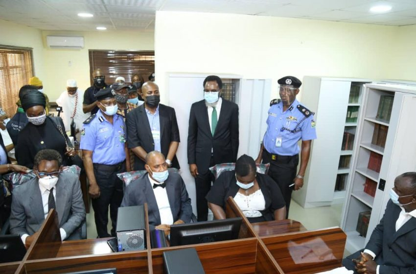 JUSTICE: LAGOS CP, ONIGBANJO COMMISSION NEW POLICE LAW LIBRARY