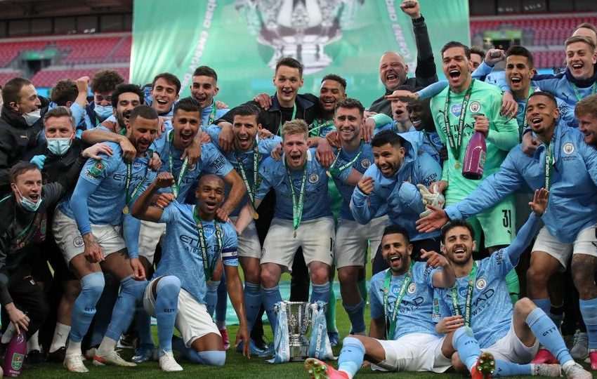 Manchester City beat Tottenham 1-0 to retain League Cup