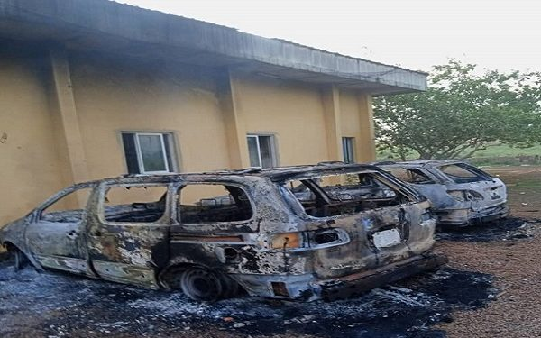 Hoodlums raze Anambra Police zonal headquarters