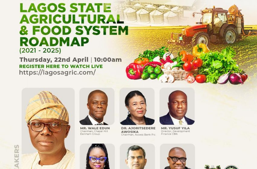 Sanwo-Olu Launches Lagos Agricultural, Food Systems Roadmap.