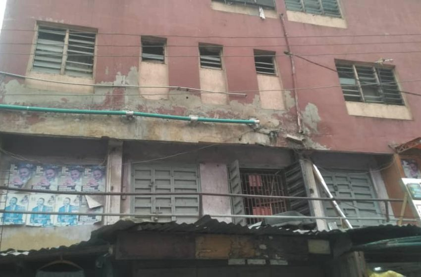 Distressed Building: LASBCA Issues Seven-day Quit Notice To Occupants