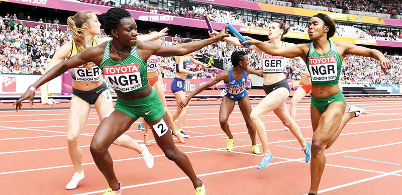 Team Nigeria Out Of World Relays Over Visa Hitch.