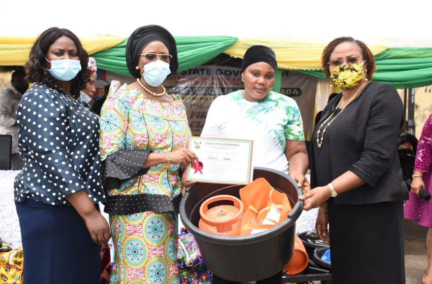 LASG Empowers Indigent Women In Orile Agege, Iba, Oto-awori LCDAs.