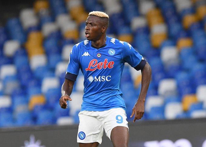 Osimhen scores as Napoli crush Lazio