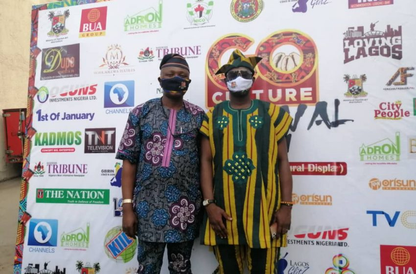 Lagos Endorses 'go Culture Festival 2021', Says Initiative Will Promote Arts, Cultural Sustainability.