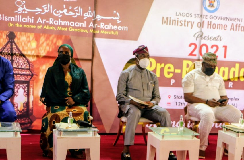 Pre-Ramadan Lecture: Sanwo-olu Urges Muslims To Seek God's Intervention, Restoration For Nigeria