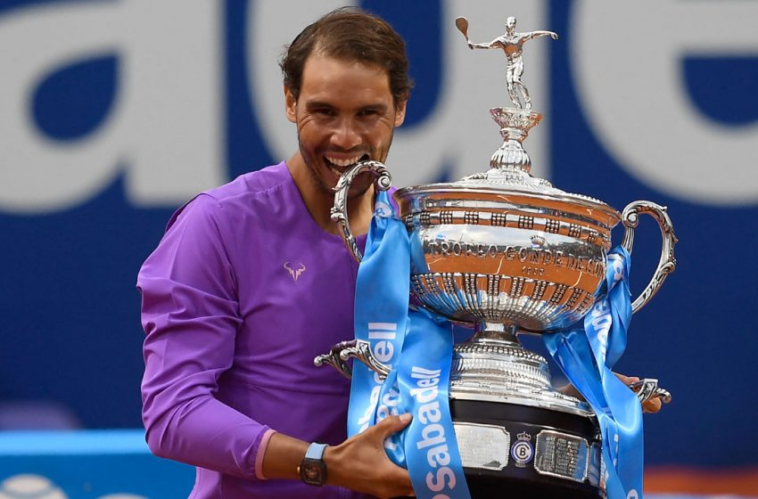 Nadal Rise To Number 2 in ATP Rankings After Barcelona victory